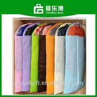 Promotion Non Woven Stock Mixed Colors Suit Cover Cheap Garment Bag