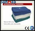 de buena calidad verde desechables toallas quirúrgicas