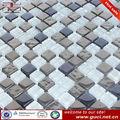 aço inoxidável design de superfície do mosaico casa de banho pavimento azulejo