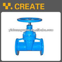 ductile iron rising stem din f5 gate valve