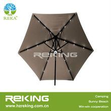 Wind Resistant LED Beach Umbrella