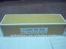 48v 60ah lifepo4 battery pack