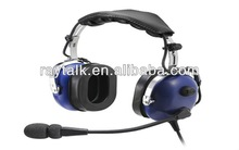General aircraft GA aviation headset in PNR with gel ear seal flexible boom microphone