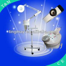 TM-820 hot sale portable facial steamer magnifying lamp