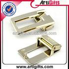 2015 Cheap custom solid brass belt buckles