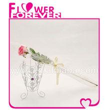 Pink Artificial Flower Bouquet Wedding Giveaways