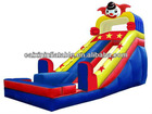 inflatable giant dry slide/ outdoor event party dry slide/festival kids play dry slide