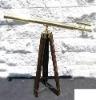 LARGE BRASS TELESCOPE TRIPOD - Harbor Master - SCOPE