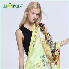 Lemonpaier Digital Print Large Size Silk Shawls