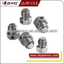 Bursting discs for hydraulic equipments