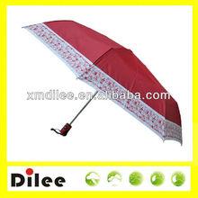 nice Japanese market wholesale 23 inch 8 ribs 3 mini umbrellas
