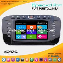Fiat punto car multimedia system supplier 1 single din gps blue&me canbus ipod tv