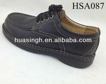 LX,multi-function black safety steel toe cap men's dress shoes