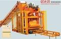 Qtj4-25 de ladrillo que hace el sistema, la máquina del bloque, de ladrillo que hace la máquina