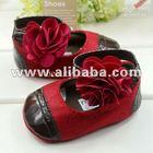 Baby Girls' Prewalker Infant Shoes Red Rose Soft Buttom Shoes Summer