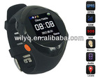 2013 New Arrival GSM Quad Band GPS Tracker Watch Phone GP88 +Support Real-time Tracking+Positioning+SOS+MP3+SMS