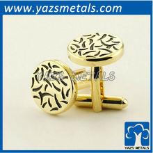 customize Men's Cufflinks, factory made cheap metal craft