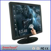 17 inch desktop tft lcd touch screen monitors
