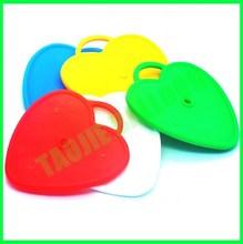8 Gram Heart Shape Plastic Balloon Weight