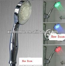 XBM-L1012 plastic toilet european shower head led shower column