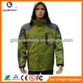 Verde do exército da moda de lítio aquecimento roupas/casacos para homens