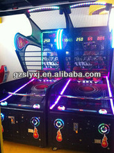 Basketball Fire coin operated street simulator basketball game machine