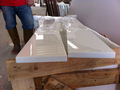Puro mármore branco prateleira, windowsills, ombreiras, limiar, prateleira de canto, seat
