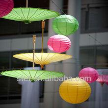 hot salel paper lantern garland for weddings decoration