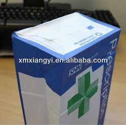 kraft pharmacy paper bag/ block bottom paper bag