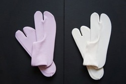Tabi socks anti slip japanese style