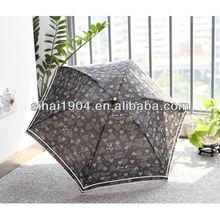 Umbrella 3 fold with fashionable design and beautiful color
