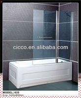 China manufacturer, Aluminum Profile Shower Screen/Glass Bath Screen