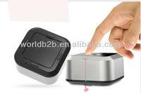 Aluminium Travel Cube Bluetooth Stereo Speaker for iPhone 5 5S Samsung Galaxy S4 etc.