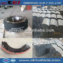 Truck & trailer spare parts, brake drum/brake shoe/brake lining/assembly