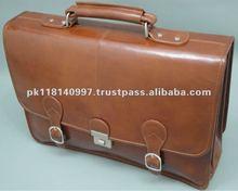 Buffalo leather Business / Laptop Bag - Glazed