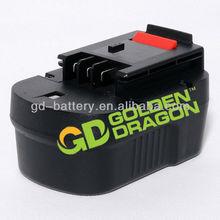 BLACK & DECKER 14.4 Volt Ni-Mh Slide Pack Battery FSB14