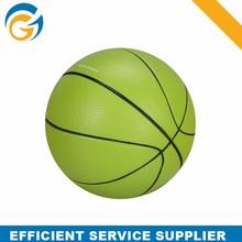 2015 High Quality Soft Green Basketball Pu Stress Ball