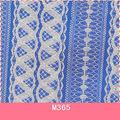 M365 corset padrão elástico laço de tecido para o corredor da tabela, cortina, travesseiro, laço de casamento de tecidos