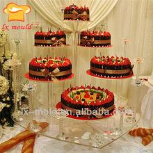 Stands de gâteau de mariage affichage tiers, Stand de gâteau de mariage