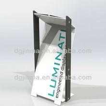 JDZ-AL472 Hot sale customized Logo modern design steel church pulpit|lectern|podium
