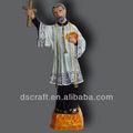 Resina cruz religiosa estatueta para venda