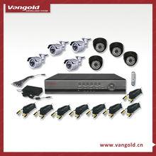 8pcs Sharp CCD Cameras DVR CCTV Security Equipment