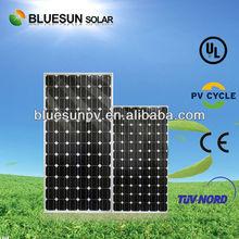 hot sale mono 210w amorphous silicon thin film flexible solar panel