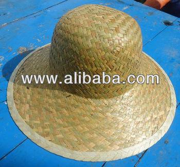 Semi product of straw hat
