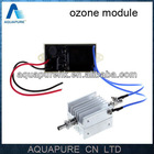 Stainless steel electrode and quartz ozone generator tube 500 mg/h