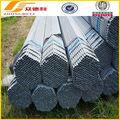 Utilizado por efecto invernadero soldada 1.25 pulgadas tubo de acero galvanizado