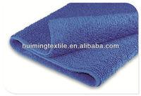 100% cotton blue color double cotton mat and rug