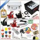 hot sale permanent professional top high quality glitter makeup tattoo machine kit for 4 guns,rotary machine kit&piercing kits