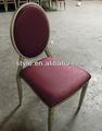cubierto de tela de sillas de comedor para el restaurante y el hotel