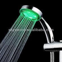 Torneiras de banheiro de pressão de água led pedicure cabeça de chuveiro